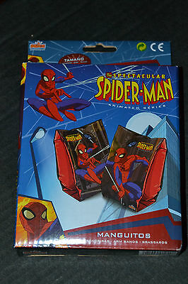 The Spectacular Spider-Man Swimming Arm Bands New and Boxed Kids