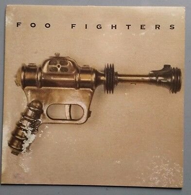 Foo Fighters vinyl LP 1995 first pressing Roswell Records