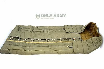 Czech Army Issue Heavy Sleeping Bag Bedroll Officers Sleeping Roll Cold Weather
