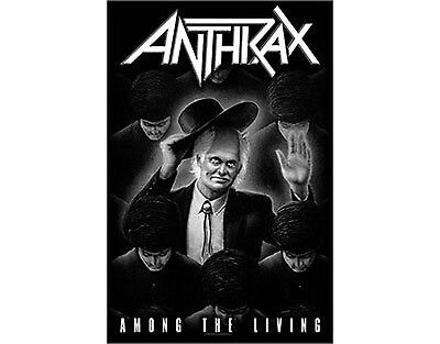 Anthrax Among The Living Textile Poster Flag