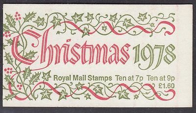 Gb Qeii Folded Booklet Fx1 Christmas 1978 10% Off For Any 5+