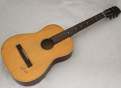 Vintage FLORIDA Acoustic Guitar made in Germany - 250