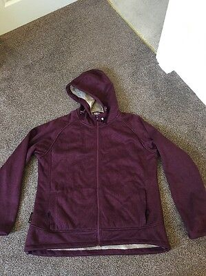 Ladies Mountain Equipment Fleece Lined Jacket Size 18