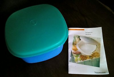 Vintage/Retro Tupperware Multiserver and Cooker with Instruction Leaflet