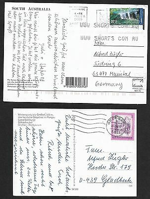 (111cents) 3 Countries Postcard