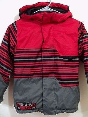Burton Boys Fray Jacket Snowboard Dry Ride Waterproof Breathable Size Small S
