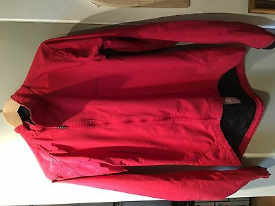 RAPHA RED SOFTSHELL CYCLING JACKET - Size M