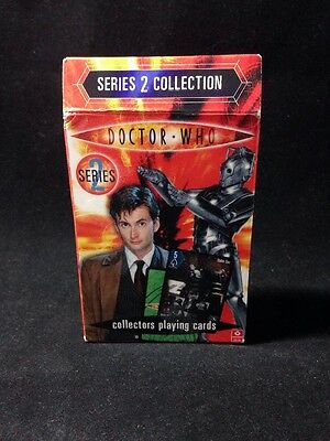 Doctor Who Collectors playing Cards Series 2