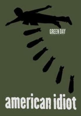 Green Day Bombs Textile Poster Flag