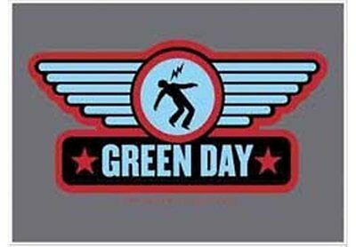 Green Day wings Textile Poster Flag