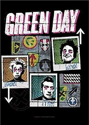 Green Day 123 Textile Poster Flag