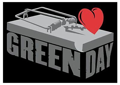 Green Day mousetrap Textile Poster Flag