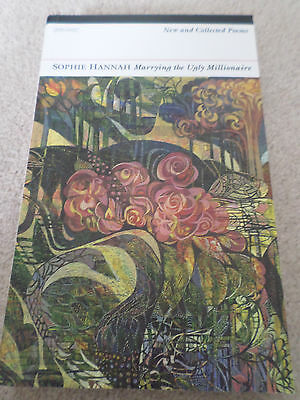 Marrying the Ugly Millionaire Collection of Poetry Verse by Sophie Hannah  - New