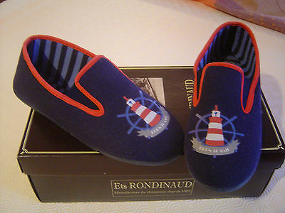 Chaussons Garcon Rondinaud Pointure 37