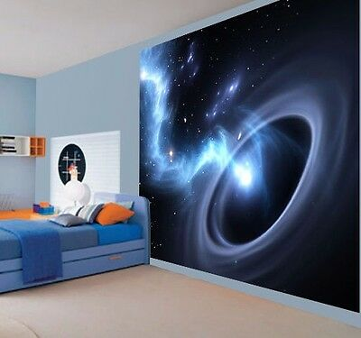 Cool black hole worm hole space universe wallpaper wall mural(41963061)