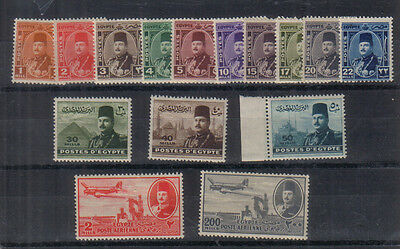 Egypt 1944-47 Mint collection - unmounted or very lightly mounted