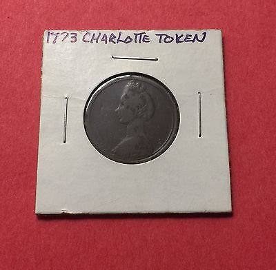 1773  -Great Britain-Vintage Charlotte Token