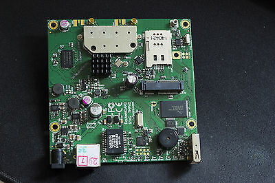 MikroTik RouterBOARD RB912UAG-5HPnD, wireless router, miniPCIe slot, 3G card
