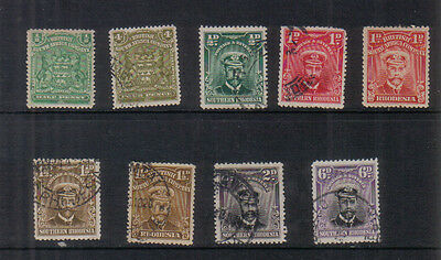 Rhodesia Small early collection