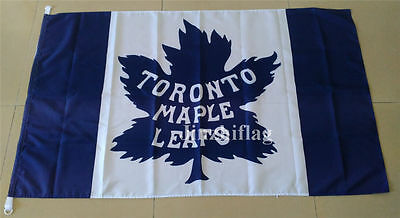 Toronto Maple Leafs Flag New 3x5FT 90x150CM Polyester Flag Banner, free shipping