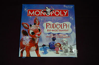 Monopoly Rudolph the Red Nosed Reindeer Edition Replacement Parts Lot
