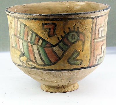 Very Beautyfull  Indus Valley Terracotta Colorful Bowl