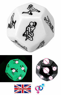 50 Shades Funny Position Adult Naughty Game Lovers Couples Dare Drinking Dice