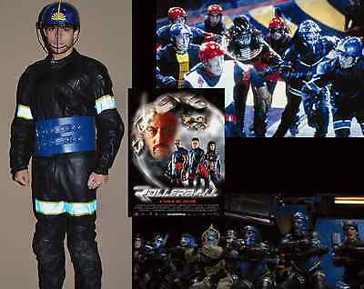 """Moscow Marauder Uniform (2002, ROLLERBALL) MGM production-used """"Leather"""" Costume"""