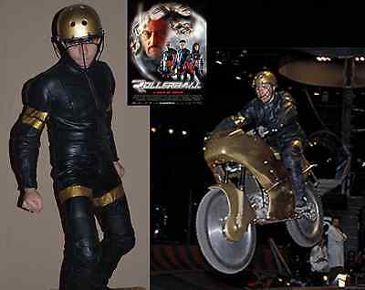 Golden Horde (2002 ROLLERBALL) MGM production leather MOTORCYCLE Team Costume
