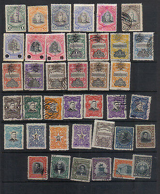 El Salvador 1906-12 Collection