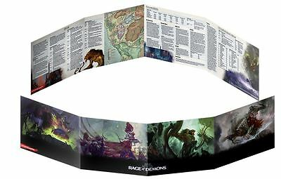 Rage of Demons Dungeons & Dragons DUNGEON MASTER'S SCREEN D&D 5ed next dm