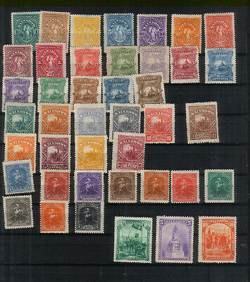 El Salvador 1890-93 Collection