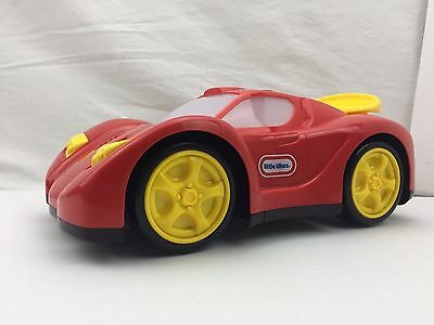 Red Little Tikes Touch N Go Racer Sports Car 4 Buttons Play Sounds FREE UK POST