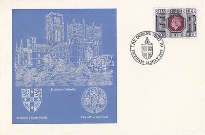 1977 Durham Cathedral cover with SPMK.