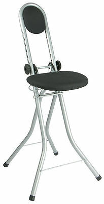 Steh- und Seat help adjustable height - Standing assistant chair Ironing