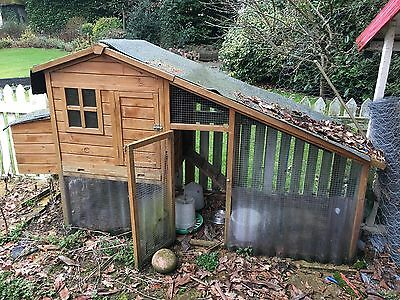 Used Chicken Coop And Feeders Collection Only