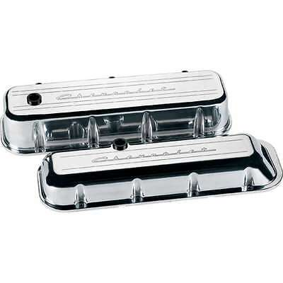 Billet Specialties 96123 Valve Cover BBC TAll CHEVROLET Polished