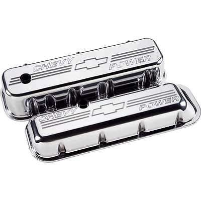 Billet Specialties 96022 Valve Cover BBC Short CHV Power Polished