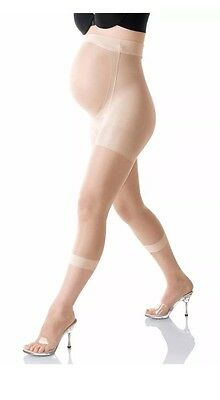Genuine Mama Spanx Maternity Footless Pantyhose Color Nude Size D XLarge New