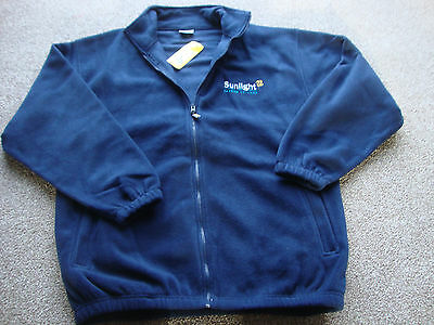 Brand New With Tags Fleece Jacket  Navy Size Xl  Extra Large