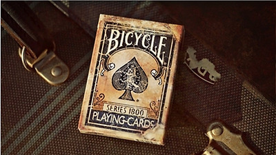 Series 1800 Marked Vintage Blue Bicycle Deck Of Playing Cards Magic Tricks New