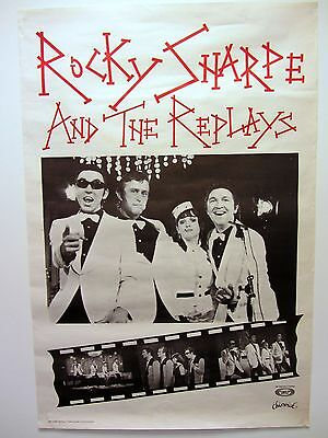 Rocky Sharpe and The Replays ORIGINAL POSTER 1979