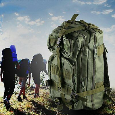 Outdoor Multifunctional Sports Camping Hiking Bag Military Tactical Backpack D#K
