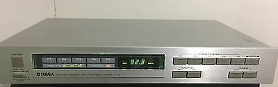 Vintage Yamaha T 15 Natural Sound FM AM STEREO TUNER Japan - Free Shipping