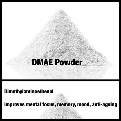 15g of 100% Pure DMAE Powder , Enhances brain activity, fighting facial sag!