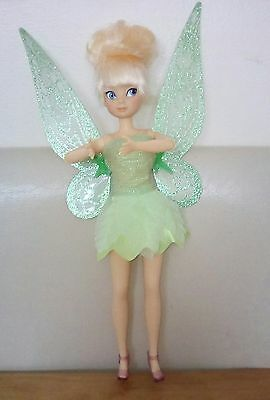 disney store tinkerbell fairy flutter wings classic doll