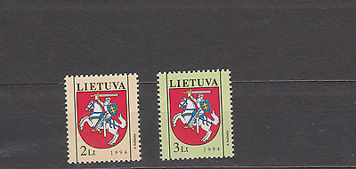 Lithuania 1994 State Arms Set Mint Never Hinged