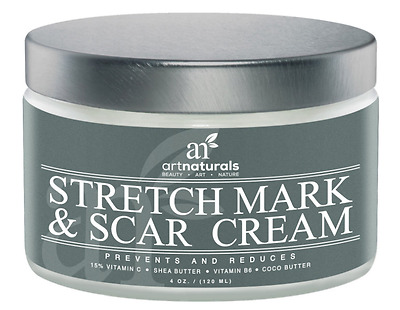 Stretch Mark & Scar Removal Cream 120ml Art Natural Prevents & Reduces Brand New