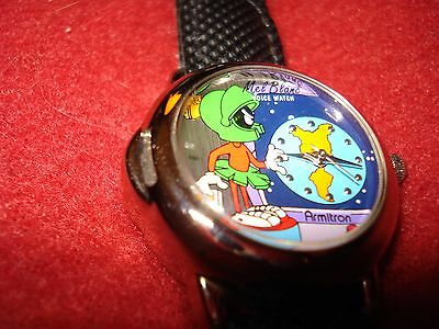 Marvin The Martian Watch - Looney Tunes Mel Blanc Armitron Watch (Note:No Voice)