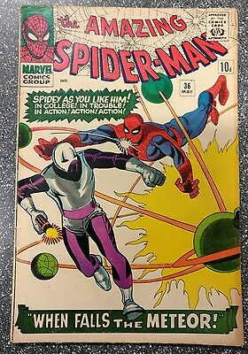 Amazing Spider-Man #36 VG-